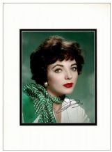 Joan Collins Autograph Signed Photo
